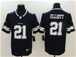 Dallas Cowboys #21 Ezekiel Elliott Blue Vapor Untouchable Limited Jersey