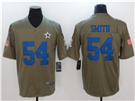 Dallas Cowboys #54 Jaylon Smith 2017 Olive Salute To Service Limited Jersey