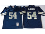 Dallas Cowboys #54 Randy White 1984 Throwback Navy Blue Jersey