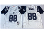 Dallas Cowboys #88 Michael Irving 1995 Throwback White Jersey