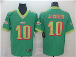 Philadelphia Eagles #10 DeSean Jackson Green City Edition Limited Jersey
