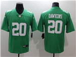 Philadelphia Eagles #20 Brian Dawkins Throwback Green Vapor Untouchable Limited Jersey