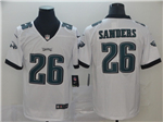 Philadelphia Eagles #26 Miles Sanders White Vapor Untouchable Limited Jersey
