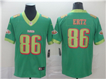 Philadelphia Eagles #86 Zach Ertz Green City Edition Limited Jersey