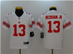New York Giants #13 Odell Beckham Jr. Youth White Vapor Untouchable Limited Jersey