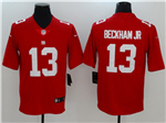 New York Giants #13 Odell Beckham Jr. Red Vapor Untouchable Limited Jersey