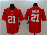 New York Giants #21 Landon Collins Red Vapor Untouchable Limited Jersey