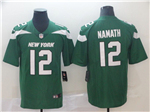 New York Jets #12 Joe Namath 2019 New Green Vapor Untouchable Limited Jersey