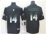 New York Jets #14 Sam Darnold Black Arch Smoke Limited Jersey