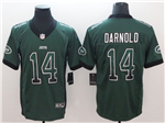 New York Jets #14 Sam Darnold Green Drift Fashion Limited Jersey