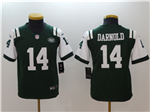 New York Jets #14 Sam Darnold Youth Green Vapor Untouchable Limited Jersey
