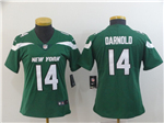 New York Jets #14 Sam Darnold Women's 2019 New Green Vapor Untouchable Limited Jersey