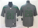 New York Jets #26 Le'Veon Bell Gray Inverted Limited Jersey