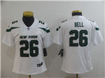 New York Jets #26 Le'Veon Bell Women's 2019 New White Vapor Untouchable Limited Jersey
