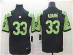 New York Jets #33 Jamal Adams Black City Edition Limited Jersey