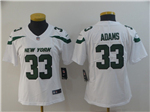 New York Jets #33 Jamal Adams Women's 2019 New White Vapor Untouchable Limited Jersey