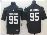 New York Jets #95 Quinnen Williams 2019 New Black Vapor Untouchable Limited Jersey