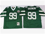 New York Jets #99 Mark Gastineau 1984 Throwback Green Jersey