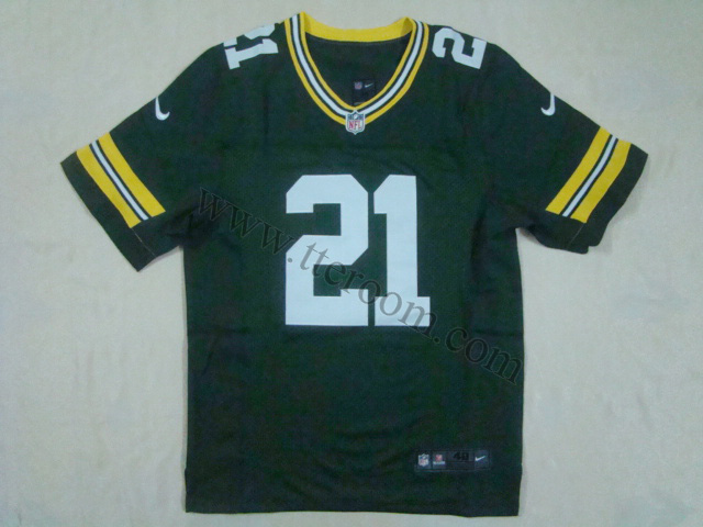 Green Bay Packers #21 Ha Ha Clinton-Dix Elite Green Jersey