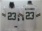 Green Bay Packers #23 Jaire Alexander White Vapor Limited Jersey