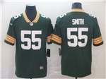 Green Bay Packers #55 Za'Darius Smith Green Vapor Untouchable Limited Jersey