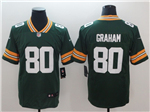 Green Bay Packers #80 Jimmy Graham Green Vapor Untouchable Limited Jersey
