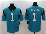 Carolina Panthers #1 Cam Newton Blue Vapor Untouchable Limited Jersey