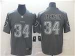 Oakland Raiders #34 Bo Jackson Gray Camo Limited Jersey