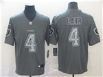 Oakland Raiders #4 Derek Carr Gray Camo Limited Jersey