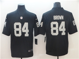 Oakland Raiders #84 Antonio Brown Black Vapor Untouchable Limited Jersey