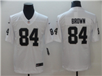 Oakland Raiders #84 Antonio Brown White Vapor Untouchable Limited Jersey