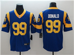 Los Angeles Rams #99 Aaron Donald Royal Blue Vapor Untouchable Limited Jersey