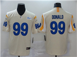 Los Angeles Rams #99 Aaron Donald 2020 Bone Vapor Untouchable Limited Jersey