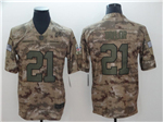Washington Redskins #21 Sean Taylor 2018 Camo Salute To Service Limited Jersey