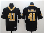 New Orleans Saints #41 Alvin Kamara Black Vapor Untouchable Limited Jersey
