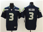 Seattle Seahawks #3 Russell Wilson Navy Blue Vapor Untouchable Limited Jersey
