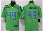 Seattle Seahawks #49 Shaquem Griffin Green Vapor Untouchable Color Ruch Limited Jersey