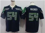 Seattle Seahawks #54 Bobby Wagner Blue Vapor Untouchable Limited Jersey