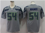 Seattle Seahawks #54 Bobby Wagner Gray Vapor Untouchable Limited Jersey
