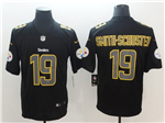 Pittsburgh Steelers #19 JuJu Smith-Schuster Black Vapor Impact Limited Jersey