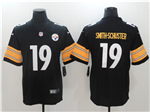 Pittsburgh Steelers #19 JuJu Smith-Schuster Black Vapor Untouchable Limited Jersey