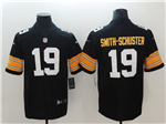 Pittsburgh Steelers #19 JuJu Smith-Schuster Alternate Black Vapor Untouchable Limited Jersey