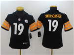 Pittsburgh Steelers #19 JuJu Smith-Schuster Women's Black Vapor Untouchable Limited Jersey