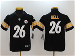 Pittsburgh Steelers #26 Le'Veon Bell Youth Black Vapor Untouchable Limited Jersey