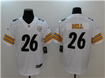 Pittsburgh Steelers #26 Le'Veon Bell White Vapor Untouchable Limited Jersey