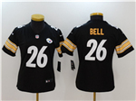 Pittsburgh Steelers #26 Le'Veon Bell Women's Black Vapor Untouchable Limited Jersey
