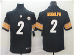 Pittsburgh Steelers #2 Mason Rudolph Black Vapor Untouchable Limited Jersey
