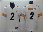 Pittsburgh Steelers #2 Mason Rudolph White Vapor Untouchable Limited Jersey