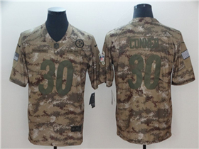 Pittsburgh Steelers  30 James Conner 2018 Camo Salute To Service Limited  Jersey 351dbc2a2
