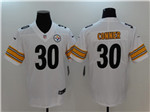 Pittsburgh Steelers #30 James Conner White Vapor Untouchable Limited Jersey